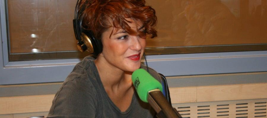La cantante Vega en Onda cero