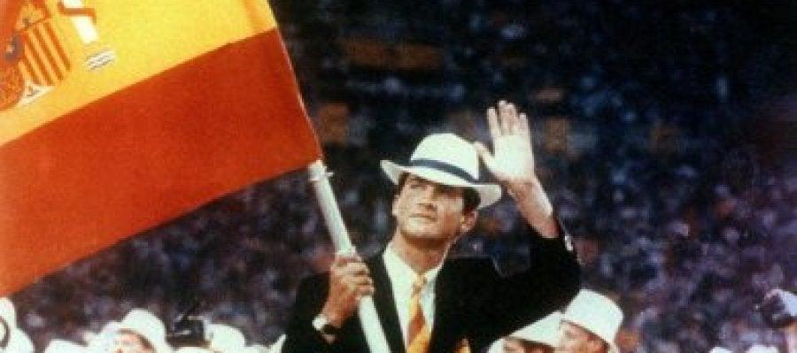 El Príncipe Felipe en Barcelona'92