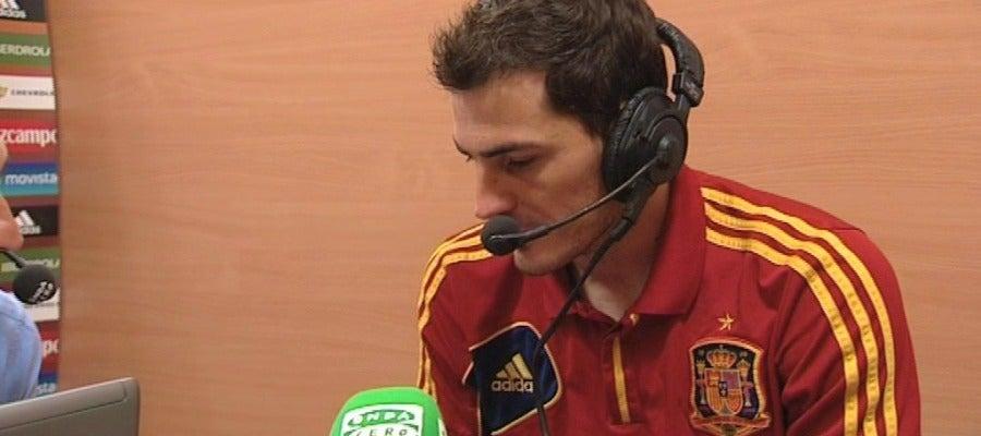 Casillas en Onda Cero
