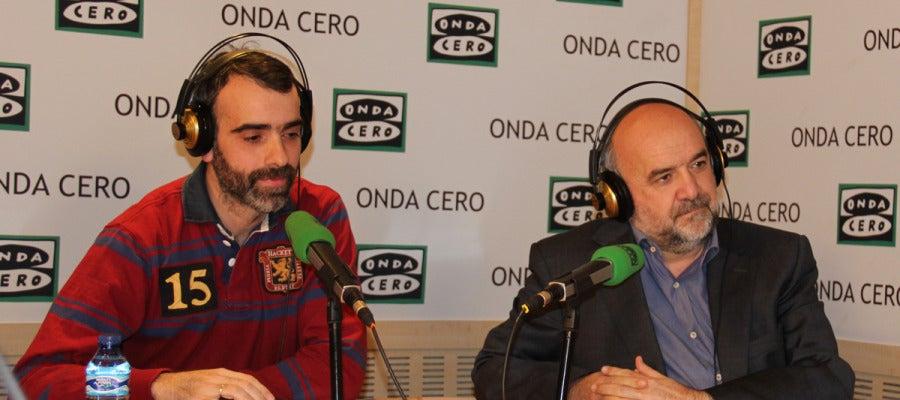 Santiago López Amigo y Mikel Lejarza
