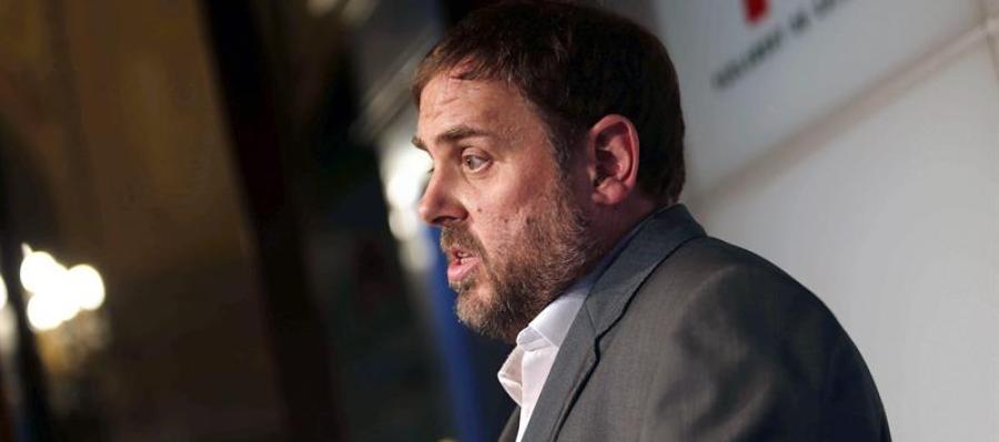 El presidente del ERC, Oriol Junqueras