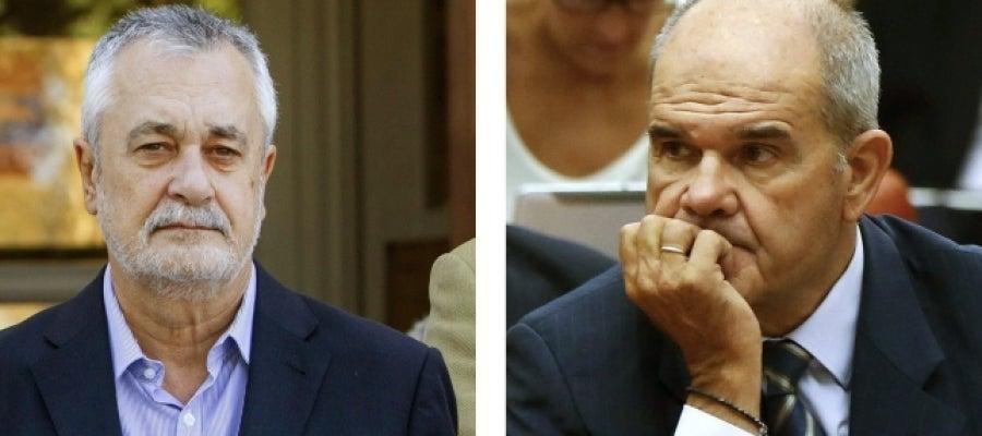 Manuel Chaves y José Antonio Griñán en el caso de los ERE fraudulentos