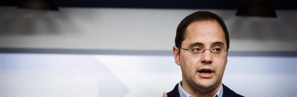 """César Luena: """"Estamos satisfechos y creemos que es un buen resultado para el PSOE"""""""