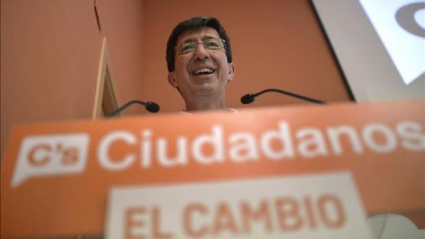 """Juan Marín: """"El alcalde de Granada seguiría siendo del PP hoy si hubieran cumplido el acuerdo firmado con Ciudadanos """""""