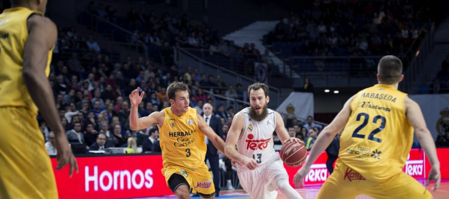 Sergio Rodríguez entra a canasta