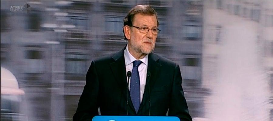 Mariano Rajoy comparece tras el Comité Ejecutivo del PP