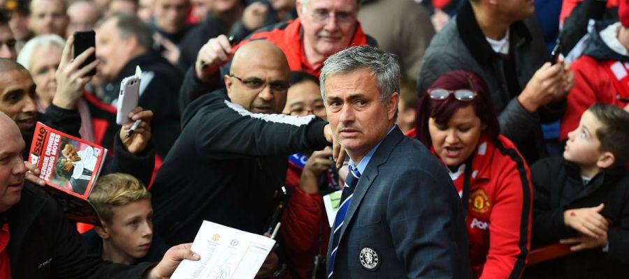 Mourinho, en Old Trafford