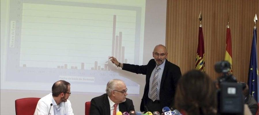 El director general de Salud Pública, Manuel Tordera