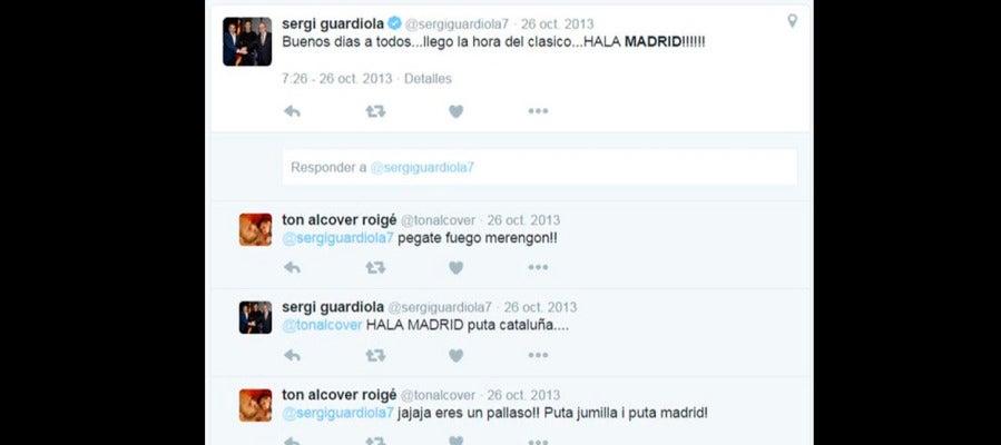 Los tweets de Sergi Guardiola
