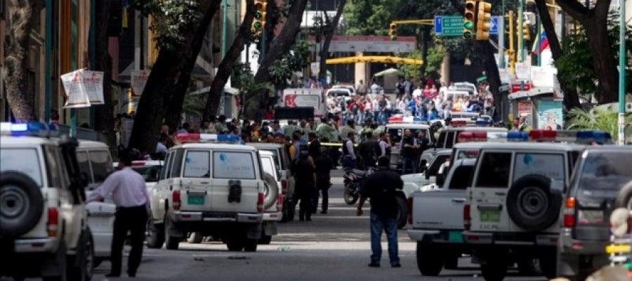 Una calle en Venezuela