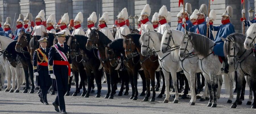 El Rey en la Pascua Militar.