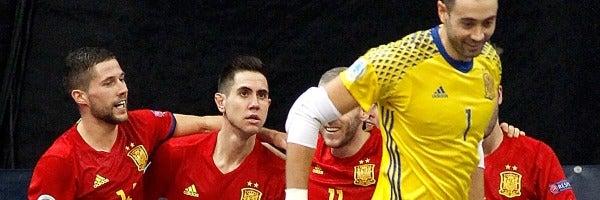 España doblega a Kazajistán y jugará la final de la Eurocopa de Fútbol Sala contra Rusia