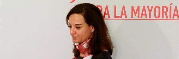 La secretaria general de PSOE-M, Sara Hernández
