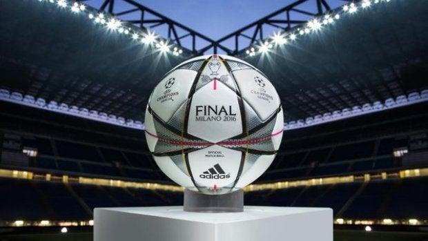 'Finale Milano', el balón oficial de la Champions para lo que resta de torneo