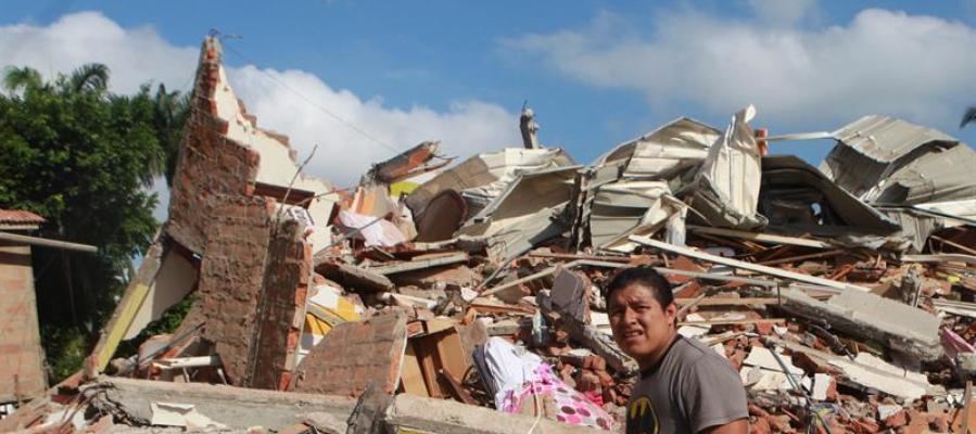 Ecuador vuelve a temblar con un terremoto de 6,1 grados en la costa norte