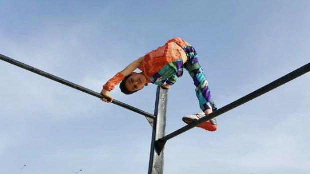 El 'Spiderman' de Gaza que aspira a lograr un récord Guinness