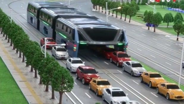 China presenta su autobús del futuro