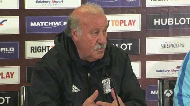"""Vicente del Bosque: """"Isco o Saúl se quedan fuera porque no podemos llevar jugadores triplicados por puesto"""""""