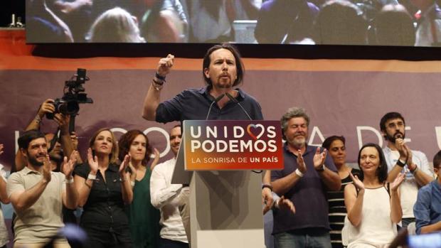 Pablo Iglesias echa el cierre a la campaña electoral