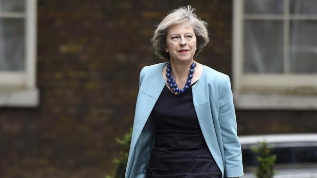 La ministra del Interior, Theresa May.