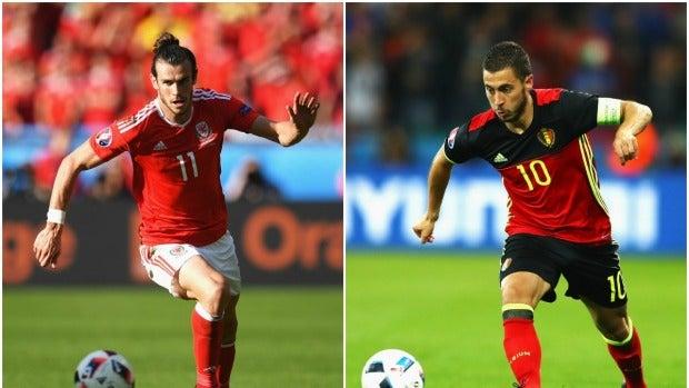 Gareth Bale y Eden Hazard