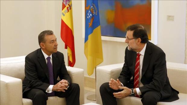 Mariano Rajoy y Paulino Rivero