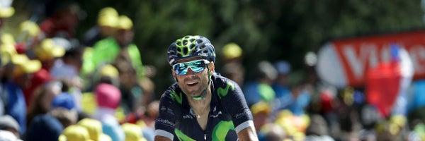 """Alejandro Valverde: """"He visto posibilidades de victoria pero Bardet ha arriesgado en la bajada"""""""