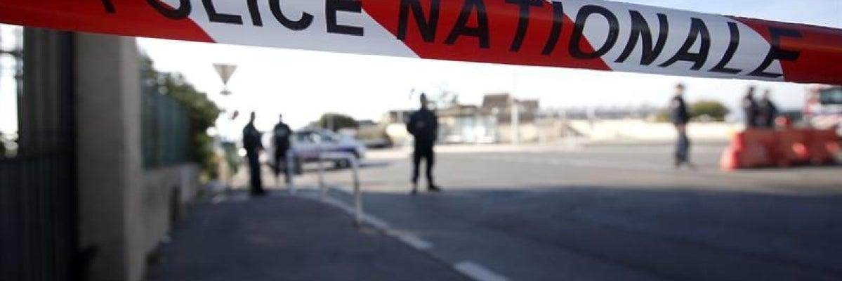 Agentes del cuerpo de elite de la Brigada de Investigación e Intervención en Normandía (Francia)