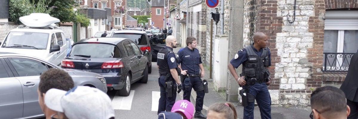 Ataque yihadista en Normandía