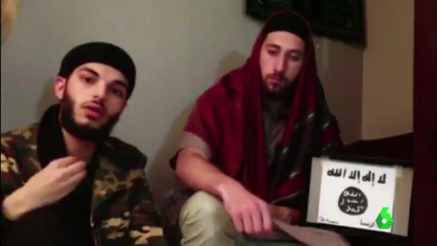Los atacantes de Normandía, en un vídeo publicado por Daesh