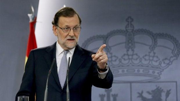 """Rajoy: """"Hasta el momento no cuento con los apoyos pero acepto el encargo del Rey"""""""