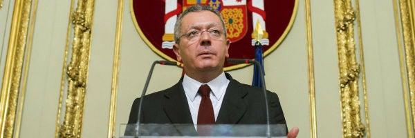 Alberto Ruiz-Gallardón, exministro de Justicia