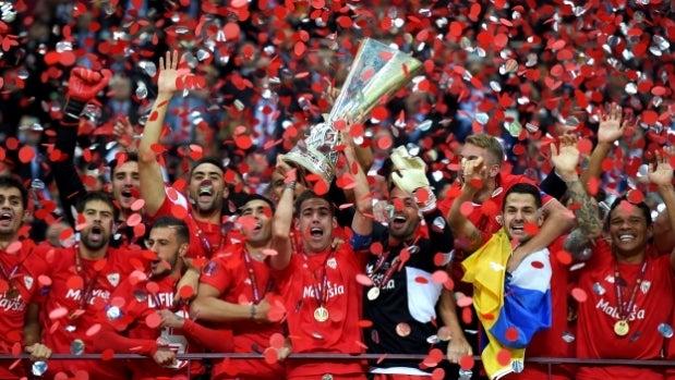 El Sevilla conquista su cuarta Europa League tras vencer al Dnipro