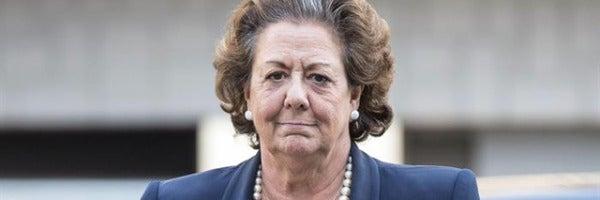 La alcaldesa de Valencia en funciones y concejal electa, Rita Barberá