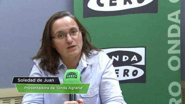 """Soledad de Juan: """"Es muy importante que conozcamos de dónde vienen los alimentos"""""""