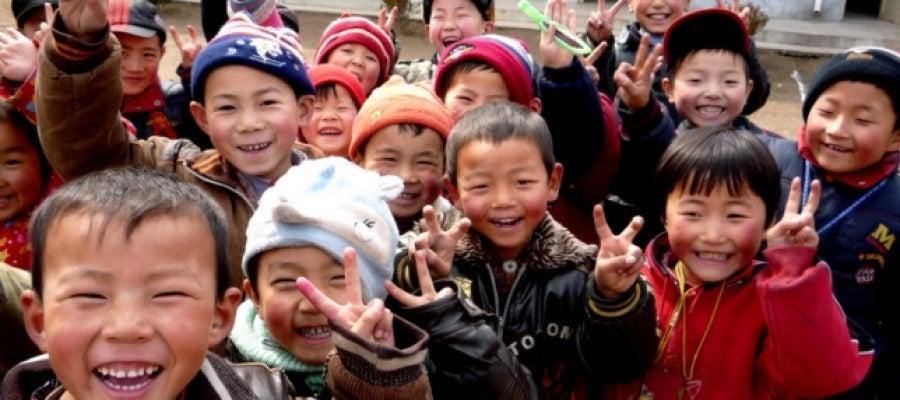 Los niños chinos.
