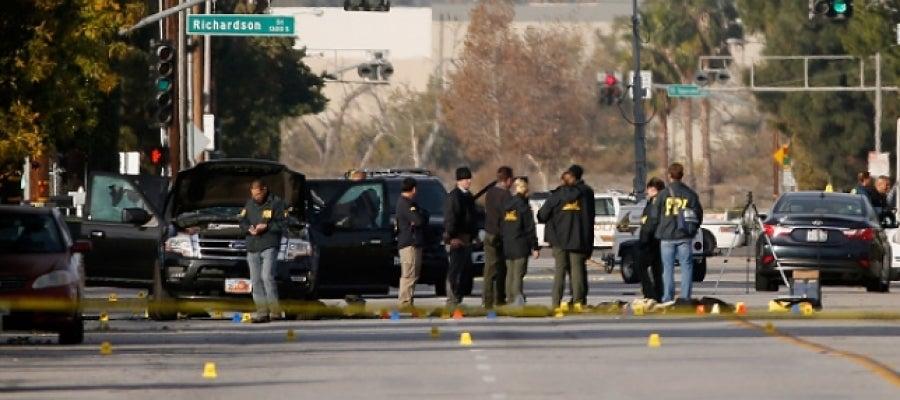 Policía en  San Bernardino, California