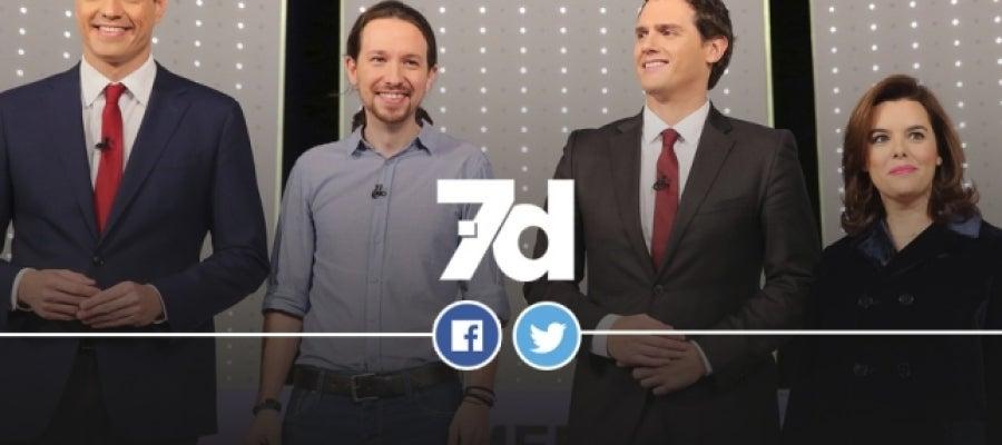 7D: El Debate Decisivo en Redes Sociales