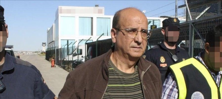 """El exdirigente etarra Luis Ignacio Iruretagoyena, """"Suny"""", uno de los cuatro acusados juzgados hoy por la Audiencia Nacional por intentar matar a Aznar con un lanzamisiles"""