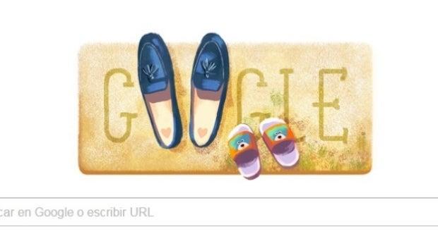 Google dedica su doodle a las madres