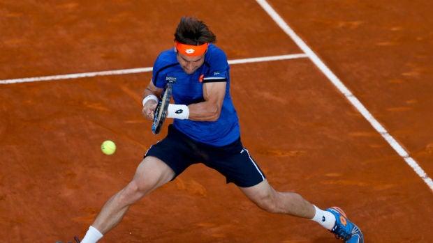Ferrer ejecuta un revés ante Denis Kudla