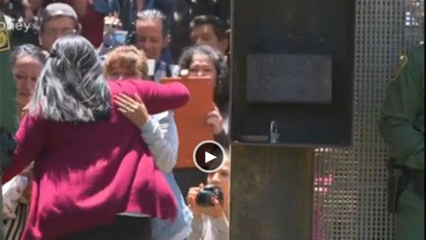 La mujer mexicana que ha roto el muro fronterizo que le separa de su familia