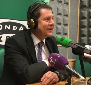"""García-Page: """"La actitud perezosa de Rajoy para debatir le inhabilita para dirigir un país"""""""
