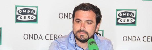 """Alberto Garzón: """"Veo factible y deseable poder ganar al Partido Popular"""""""