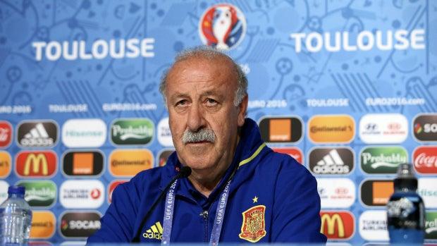 """Vicente del Bosque: """"Creemos que el equipo está bien físicamente y por eso no hicimos cambios"""""""