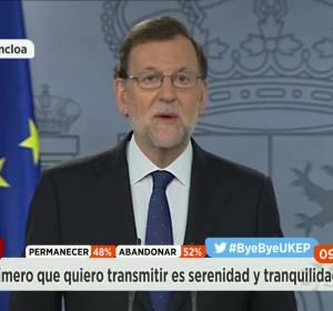 Rajoy tras el Brexit