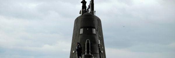 Submarino británico en acto oficial (18-07-2016)
