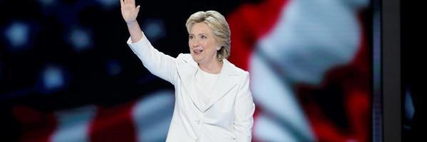 La candidata demócrata a la Casa Blanca Hillary Clinton.