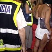 Prostitución en condiciones de esclavitud