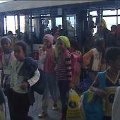 Los niños saharauis llegan a España